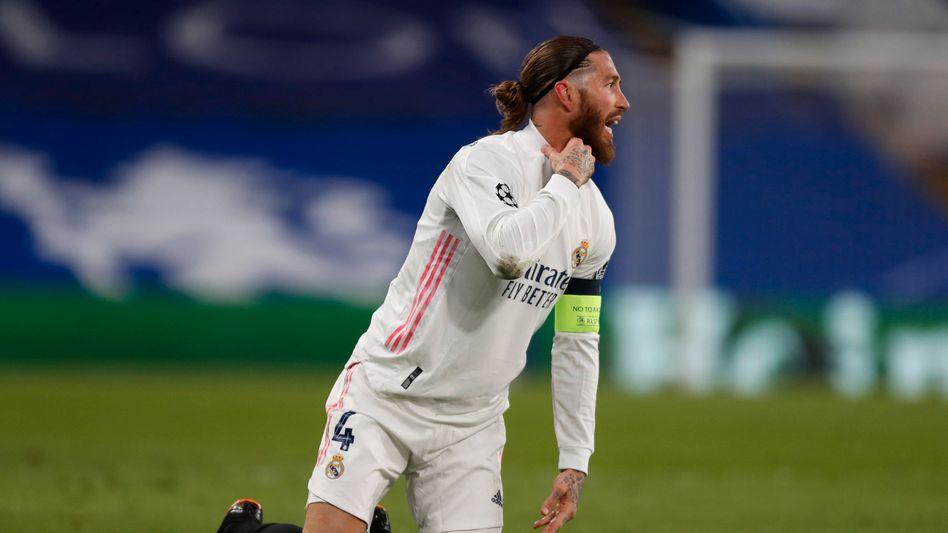 Sergio Ramos, Kapitän von Real Madrid