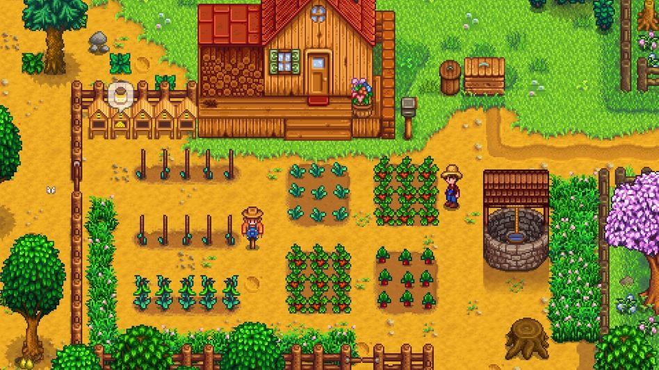 """""""Stardew Valley"""" ist ein beliebtes Spiel für Smartphones, bekannt wurde es zuvor als PC-Spiel"""