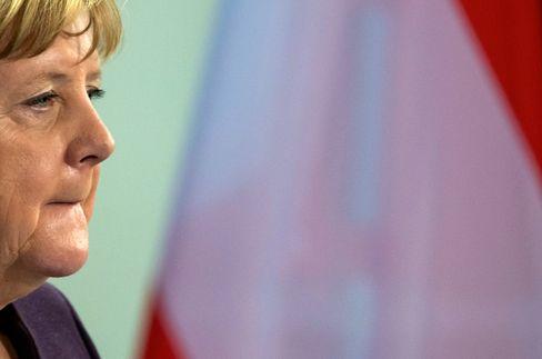 Kanzlerin Merkel (am 3. Februar in Berlin)