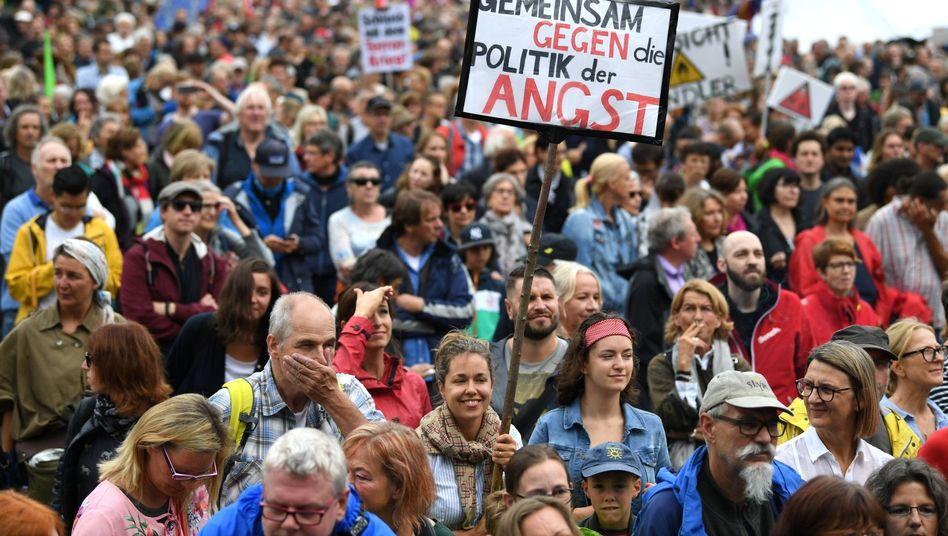 Ausgehetzt-Demonstration in München: Ich stehe für ein anderes Land