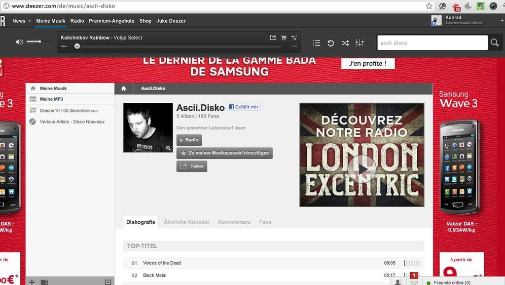 Streaming-Dienst: Deezer macht Musik
