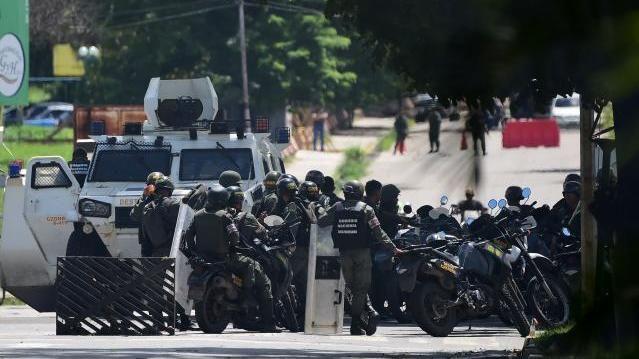 Venezuela Aufstand