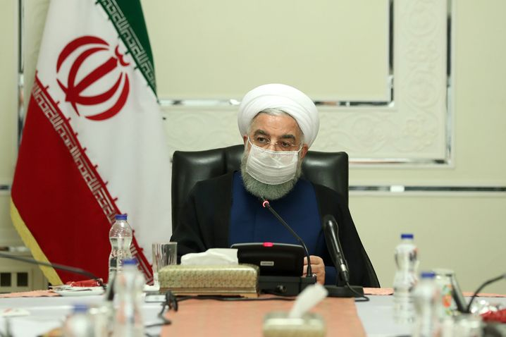 Laut Präsident Hassan Ruhani werde der Corona-Notstand in Iran mindestens bis Januar 2021 dauern