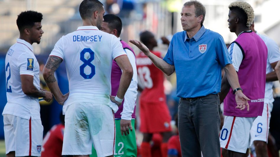 US-Coach Klinsmann: 2:3-Niederlage im Elfmeterschießen