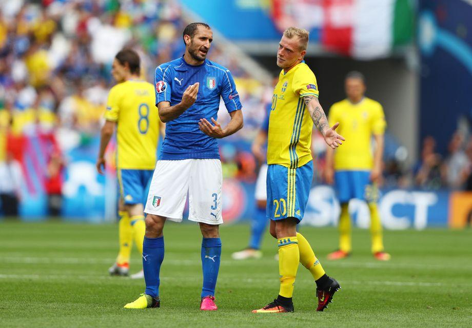 Ergebnis Italien Schweden