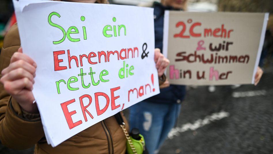 Schüler protestieren für mehr Klimaschutz: Enttäuscht von den Versprechungen der Politiker