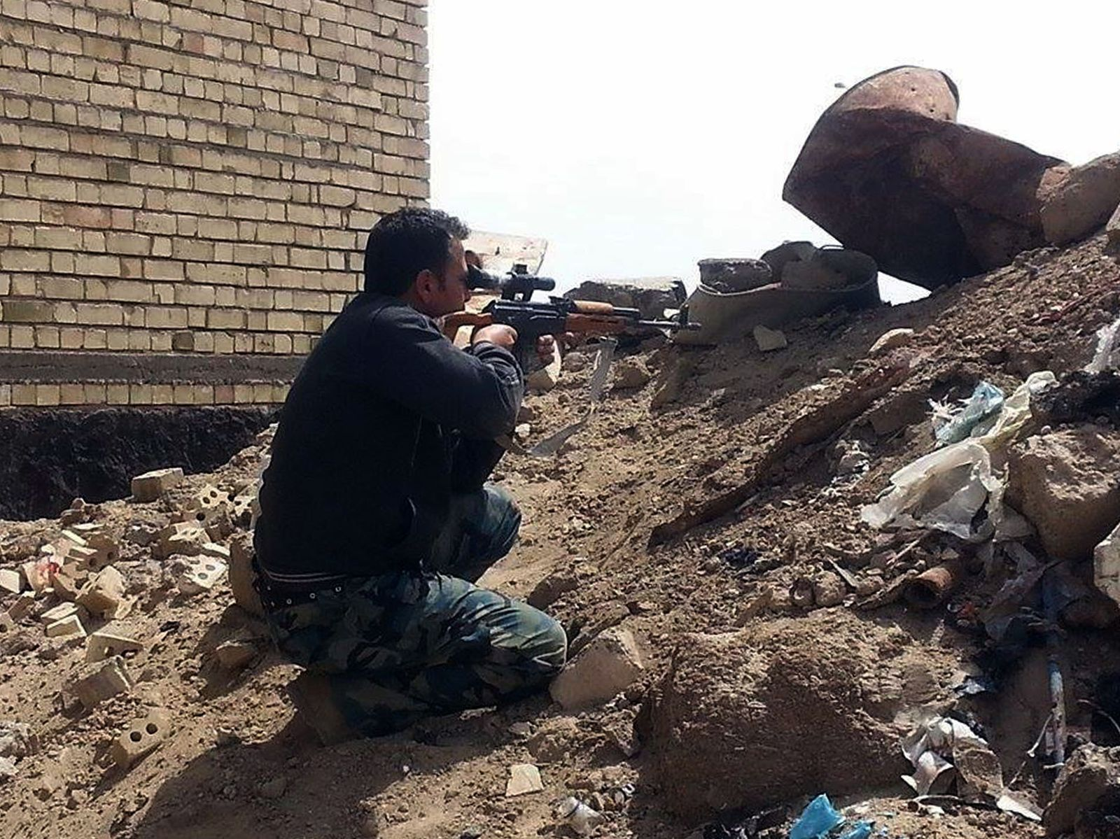 ADDITION Mideast Iraq Islamic State