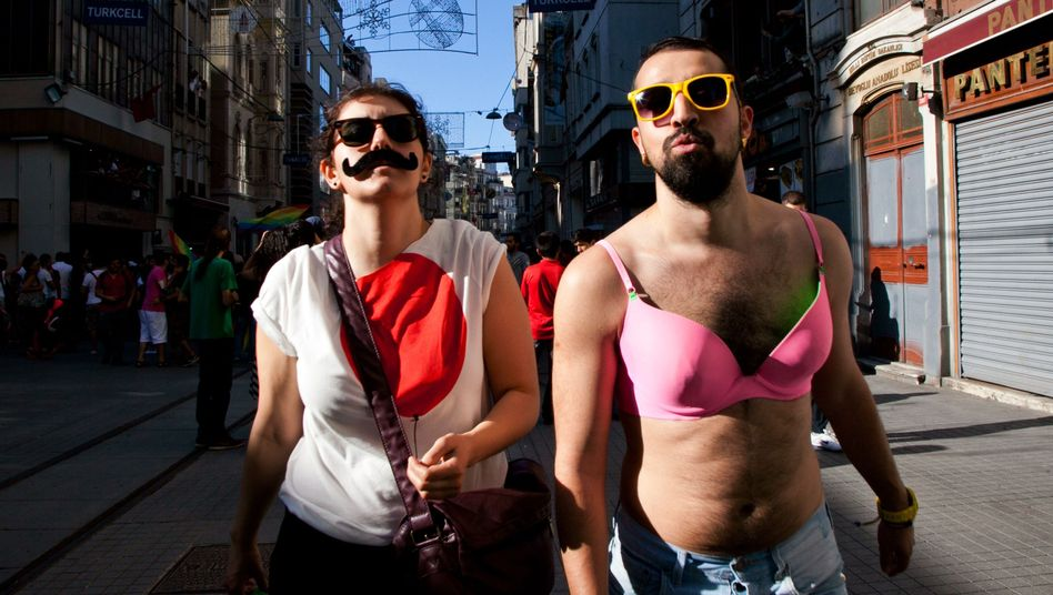 Homosexuellen-Aktivisten in Istanbul