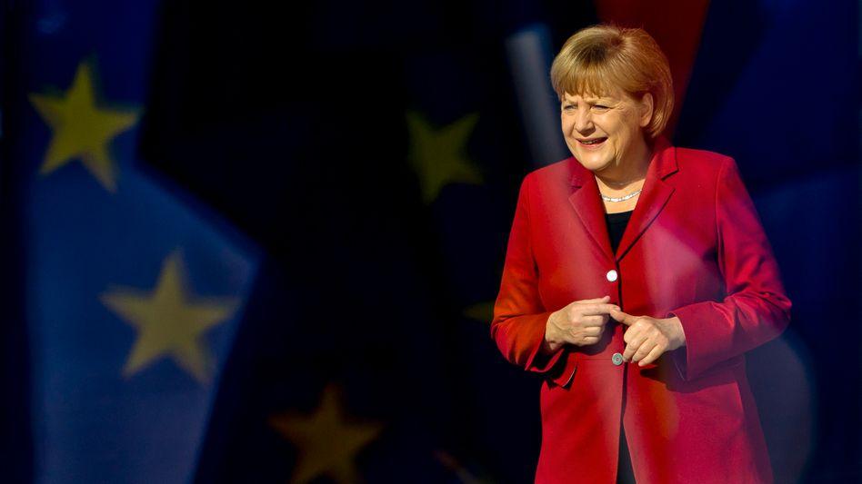 Kanzlerin Merkel: Neue Wachstums-Agenda