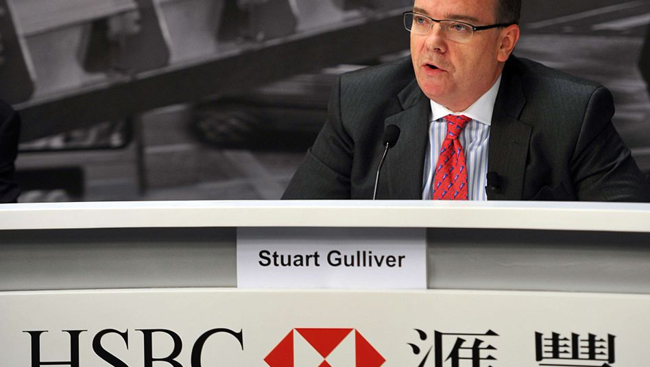 HSBC-Chef Stuart Gulliver: Jährlicher Bonus von einer Firma aus Panama