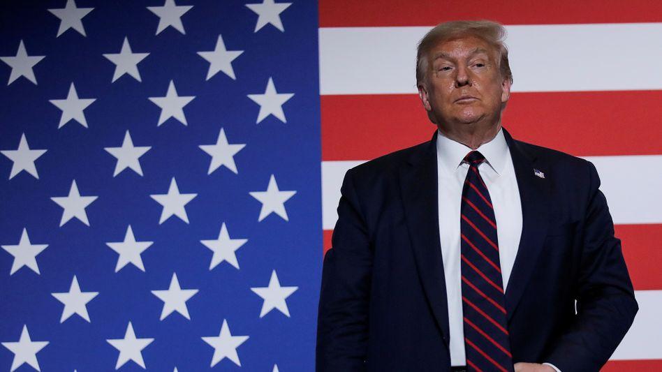 US-Präsident Donald Trump am 30. Juli in Washington