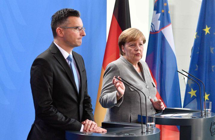 Angela Merkel, Marjan Sarec