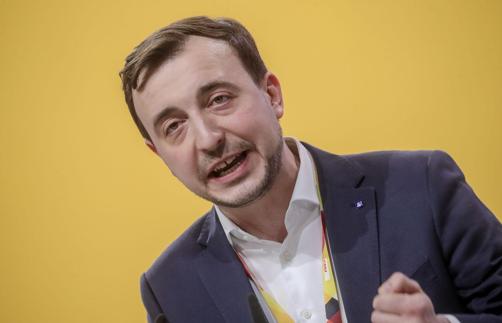 Ziemiak/ CDU-Bundesparteitag