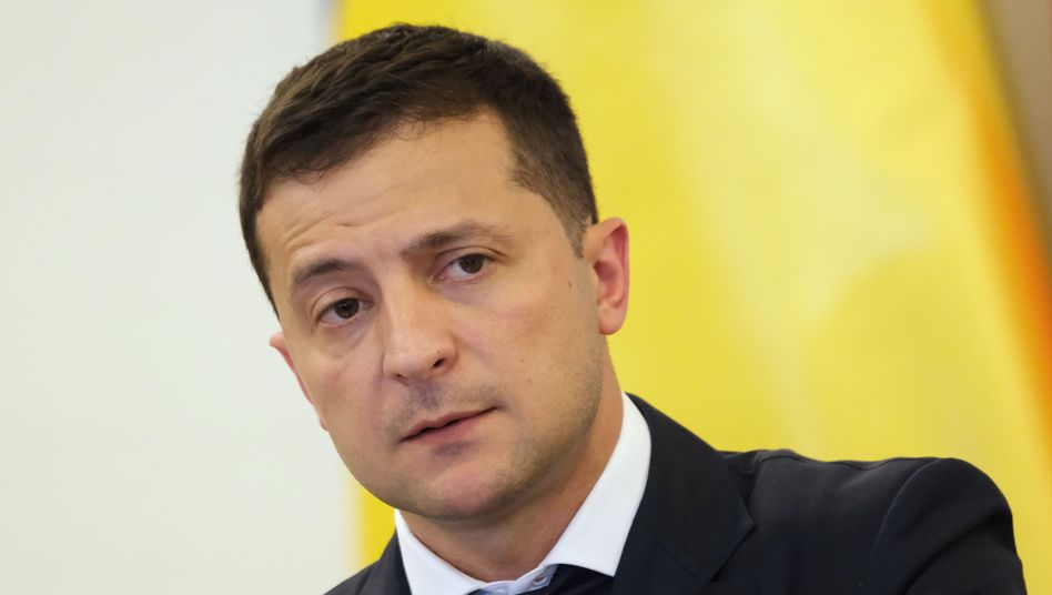 Der ukrainische Präsident Selenskyj: Erneut von der internationalen Politik eingeholt