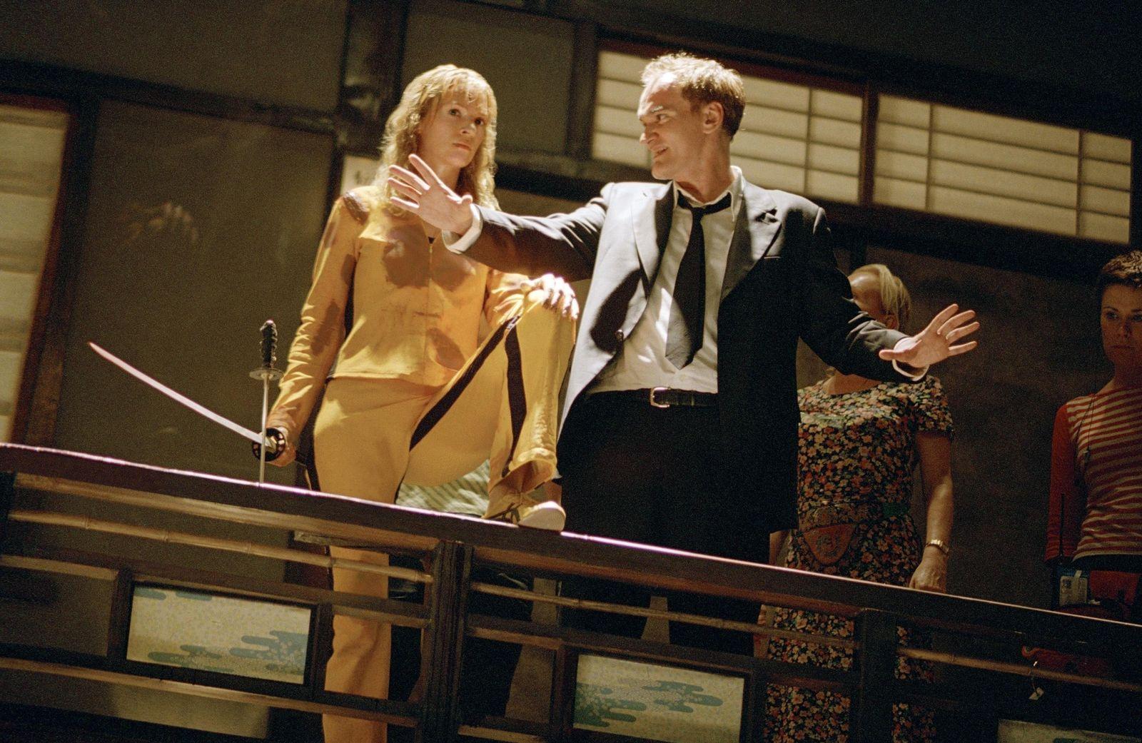EINMALIGE VERWENDUNG Tarantino Thurman/ Kill Bill