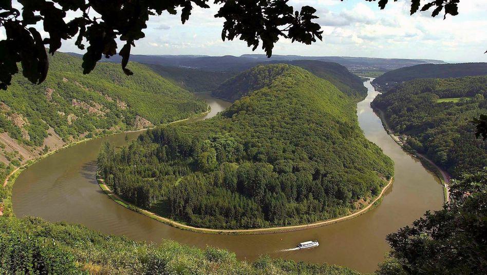 Saarschleife bei Mettlach: Gefahr für die Flüsse