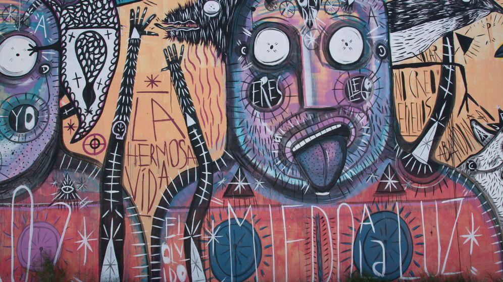 Graffiti-Nachwuchs für Juárez: Katastrophengebiet in kunterbunt
