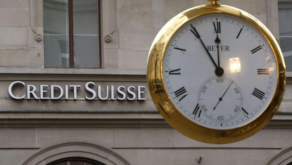 Credit Suisse headquarters in Zurich.