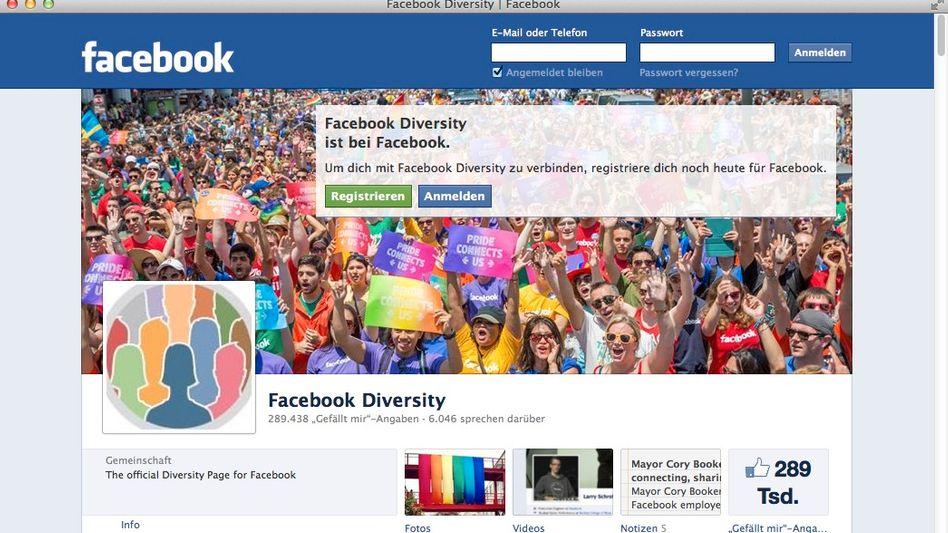 """Soziales Netzwerk Facebook: """"Sich authentisch darstellen"""""""