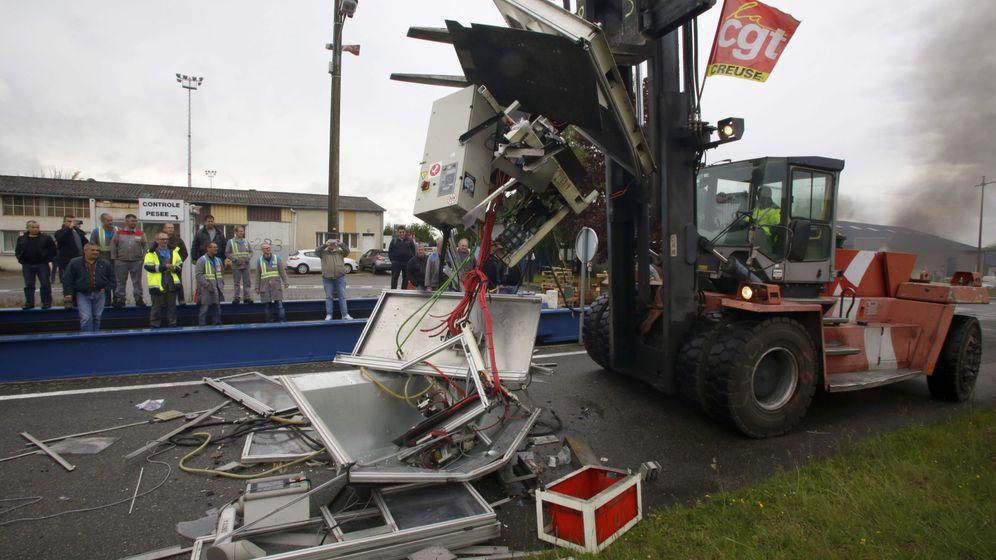Frankreich: Mit Benzinkanister gegen die Werksschließung