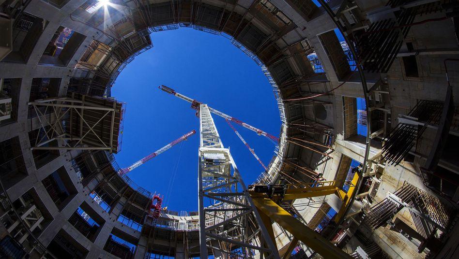 Baustelle des Iter-Reaktors