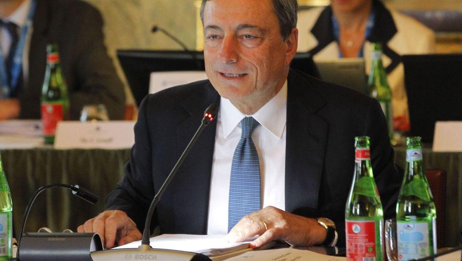 EZB-Chef Draghi: Hoher Druck