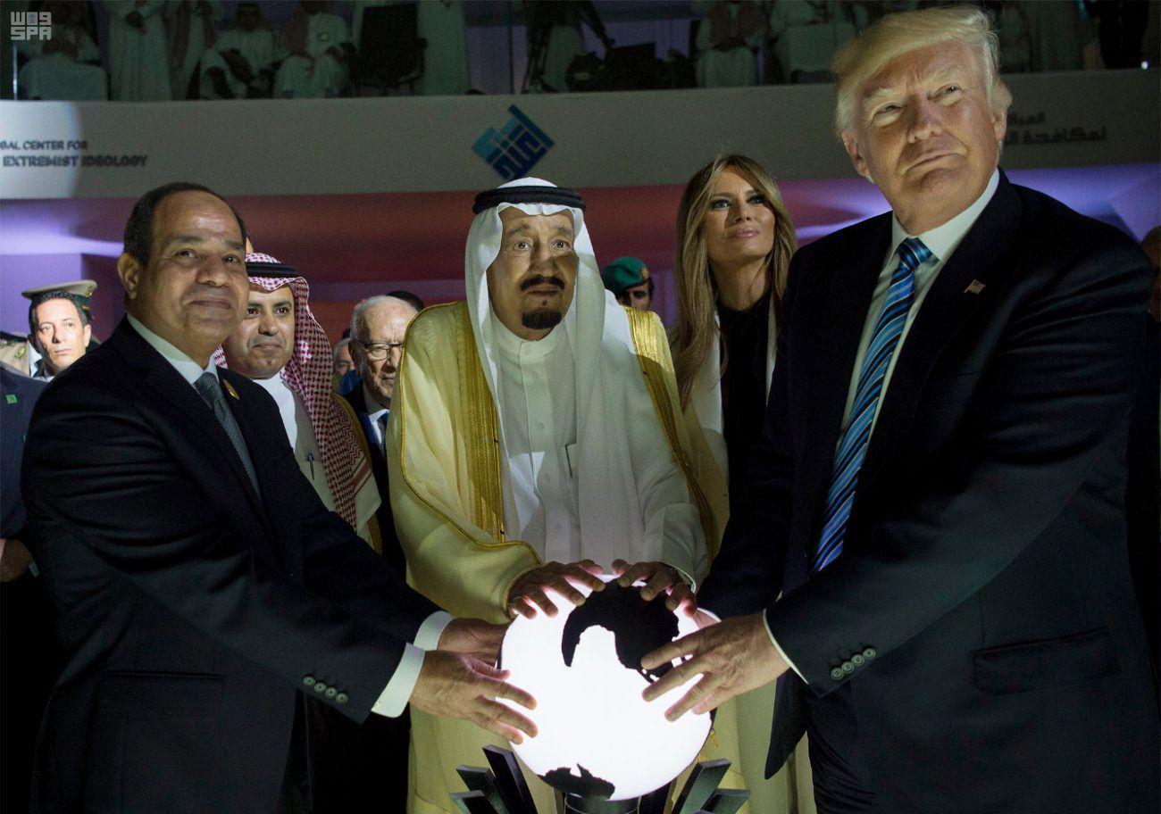 Trump/ Sisi/ US-Präsident Trump in Saudi-Arabien