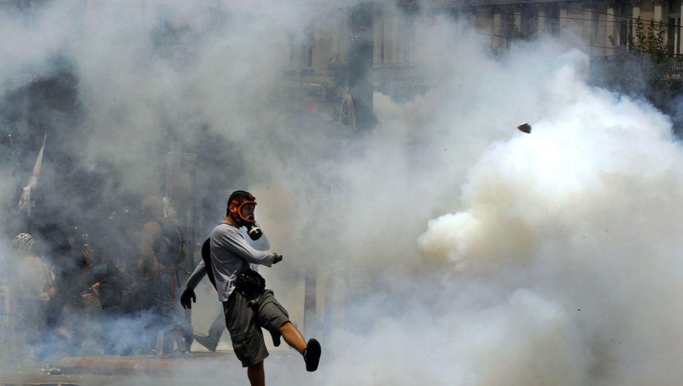 Proteste gegen Sparpaket: Die Wutbürger von Athen