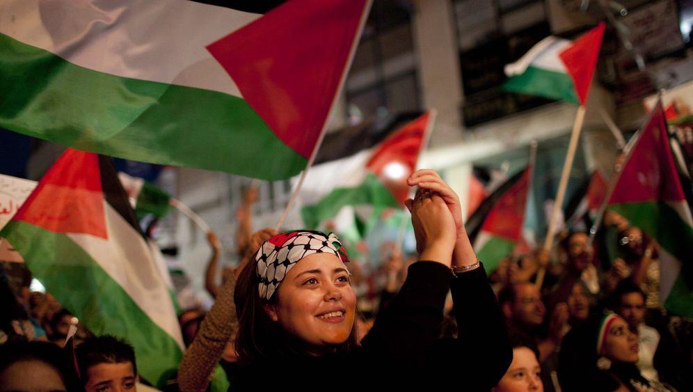 Vorstoß von Abbas: Palästinenser feiern Uno-Antrag