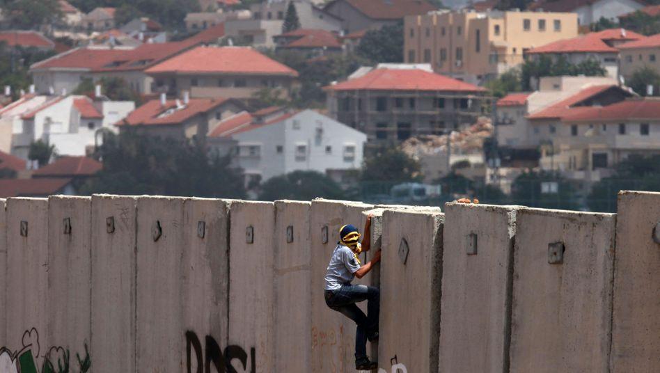 """Israelische Sperranlage im Westjordanland: """"Die harten Fakten machen einen Frieden unmöglich"""""""