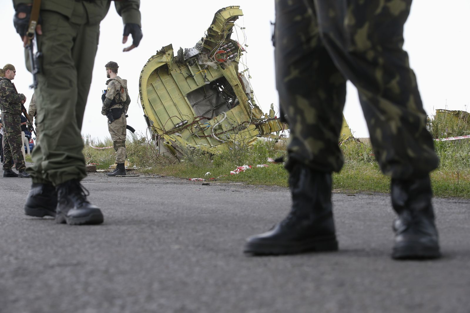 Ukraine MH17 Absturzstelle