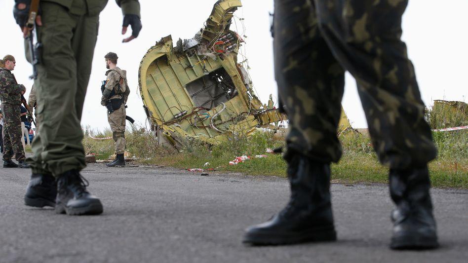 Trümmerteile von MH17: Kein Wort bei Jauch