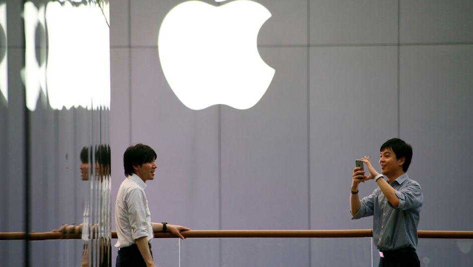 Apple-Geschäft in Peking