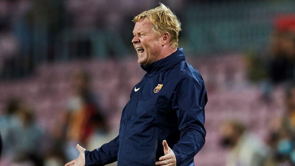 Ob er noch eine Zukunft in Barcelona hat?