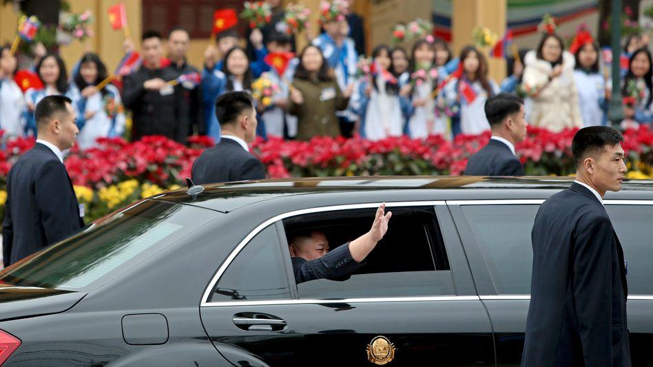 Kim Jong Un in Hanoi