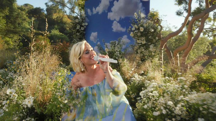 "Katy Perry in der Show ""Good Morning America"" im Mai 2020"