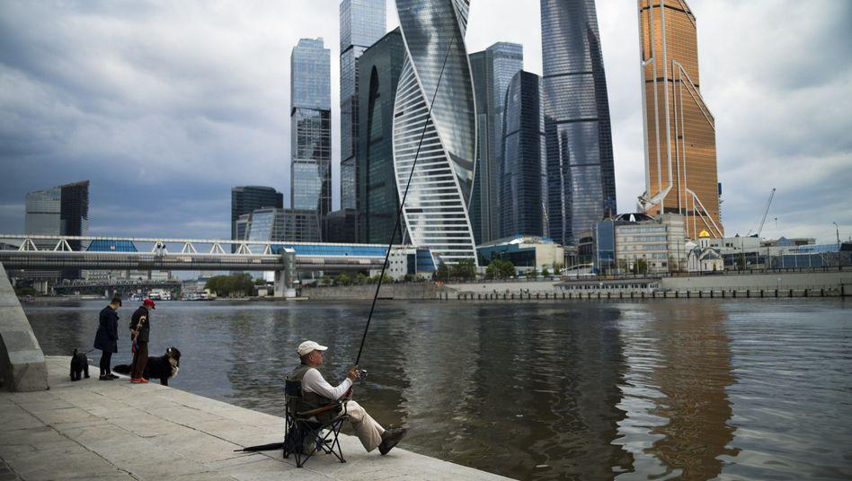 """Moskauer Geschäftsdistrikt """"Moscow City"""""""