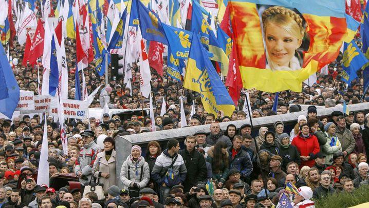 """Proteste in der Ukraine: """"Wir fühlen uns als Europäer"""""""
