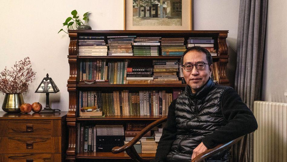 Intellektueller Zhao in seiner Pekinger Wohnung:Grundlegende Kritik am politischen Denken des Westens