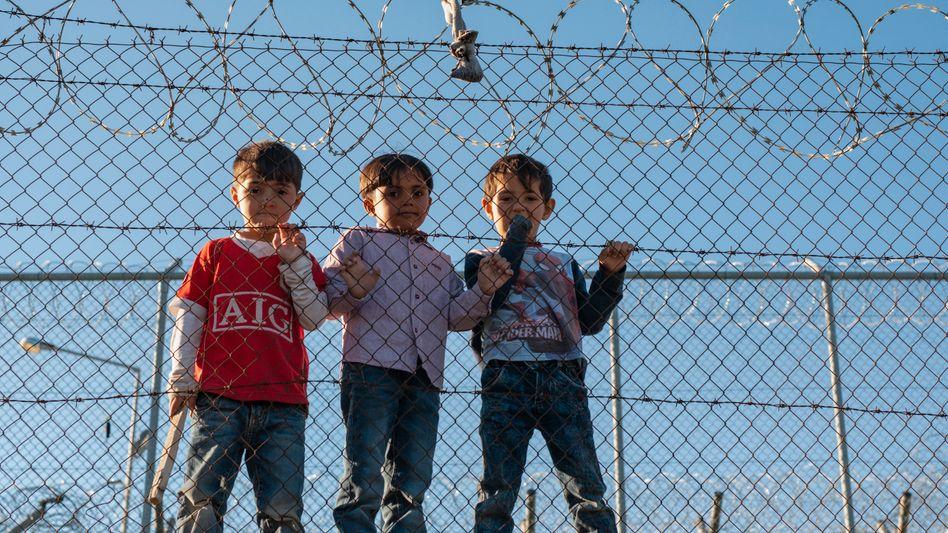 Kinder im Flüchtlingslager Moria: Die Angst vor einem Corona-Ausbruch wächst
