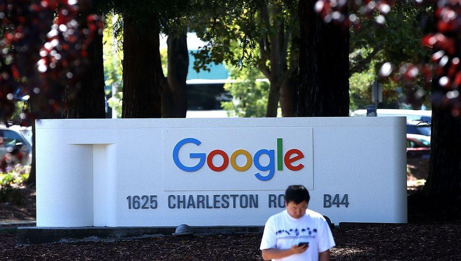 Google-Zentrale in Kalifornien