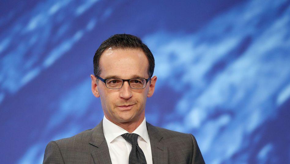 """Bundesjustizminister Heiko Maas: """"Eine Lücke schließen"""""""