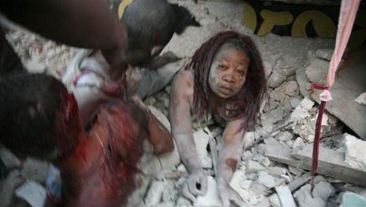 Beben vor Haiti: Verzweifelte Suche nach Verschütteten