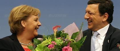 """Merkel, EU-Kommissionschef Barroso: """"Bis ans Ende ausgereizt"""""""