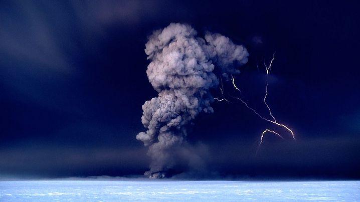 Vulkanausbruch in Island: Himmel auf Jahre verdunkelt
