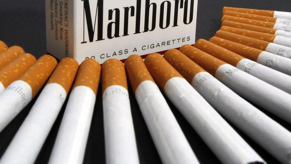 Marlboro-Zigaretten: Hauptgeschäft der Tabakkonzerne schrumpft