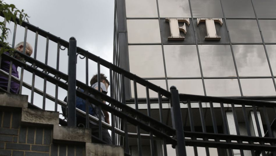 "Das Redaktionsgebäude der ""Financial Times"" in London"