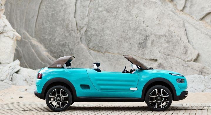 Die Studie Citroën Cactus M: Hommage an den Méhari