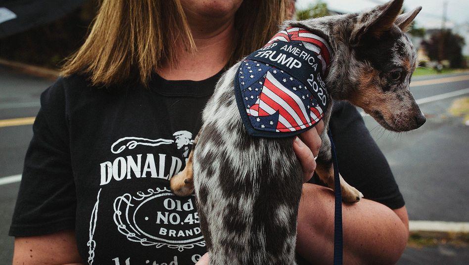 Trump-Unterstützerin in Northampton County:Kampf um die politische Zukunft