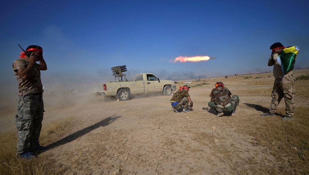Rückzug des IS: Kesselschlachten in der Wüste